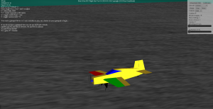 RCimulator WebGL RC Flight Simulator with FT-3D aircraft selected