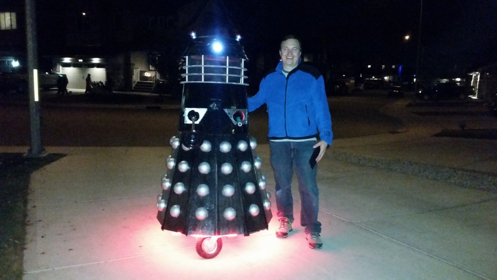 Ron and his Dalek